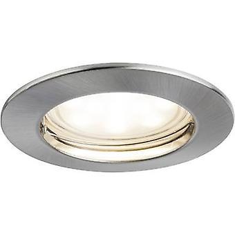Paulmann Münze 92826 LED Einbauleuchten Licht 7 W Warm weißes Eisen (gebürstet)