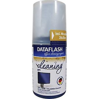 DataFlash TFT, LCD, Plasma PC screen gel cleaner 200 ml incl. cleaning cloth DF1624 1 pc(s)