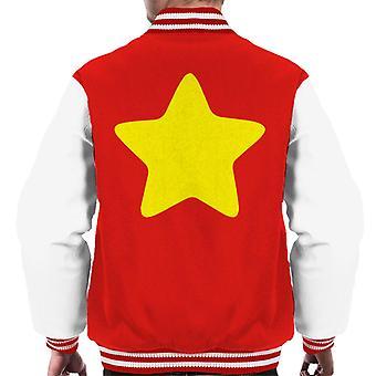 Steven Universe Yellow Star Men's Varsity Jacket