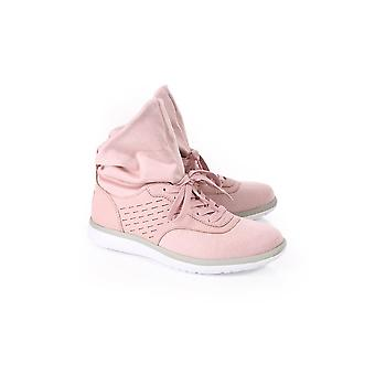 UGG Womens Ugg Womens Islay Leather Soft Hi Trainer With Sock Pink