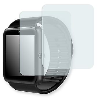 GSTEK Bluetooth Smart Watch display protector - Golebo Semimatt protector (deliberately smaller than the display, as this is arched)