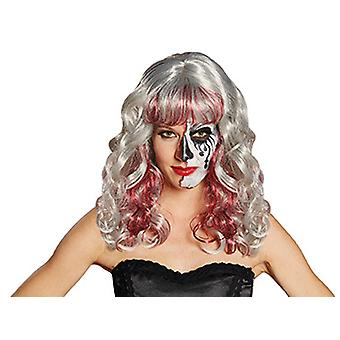 Bloody Valentina aschblonde curly wig women's accessory wig