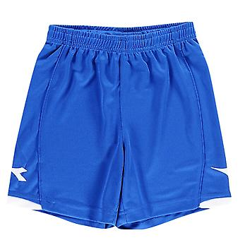 Diadora Kids Boys Kingston Football Shorts Junior Lightweight Pants Bottoms