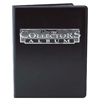 Ultra Pro portefølje Fickors 40/80 4-Samlingspärm kort svart