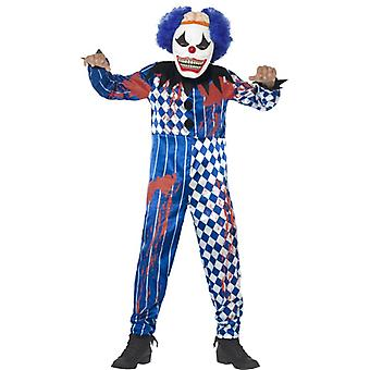 Deluxe sinister clown costume