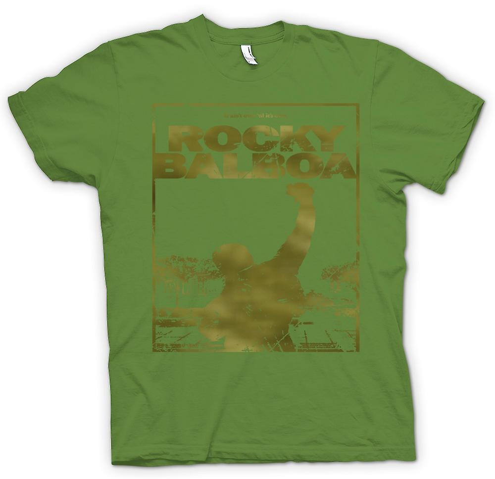 Hommes T-shirt - Rocky Balboa Punch - Film - Drôle