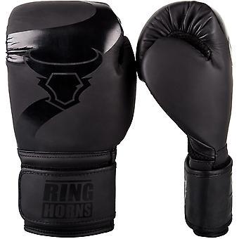 Ringhorns Ladegerät Boxhandschuhe schwarz/schwarz