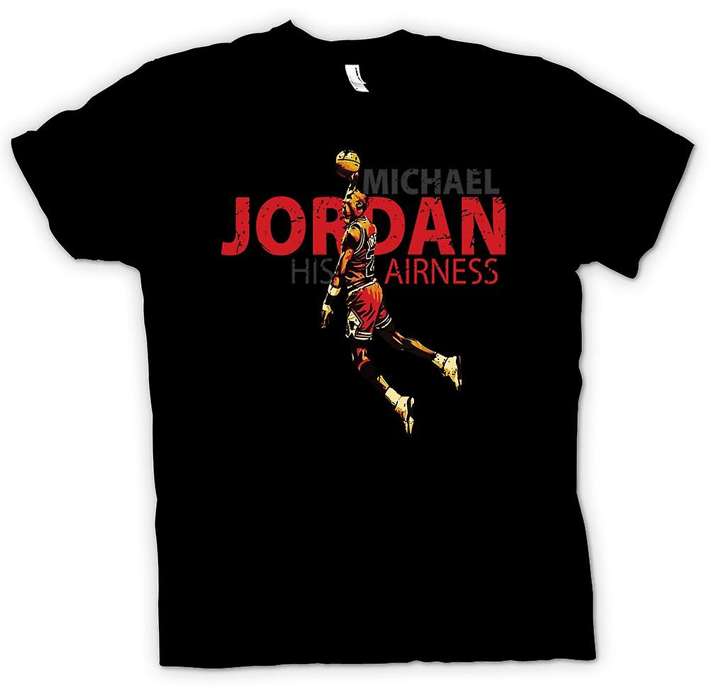 Barn T-shirt - Michael Jordon - hans Airness
