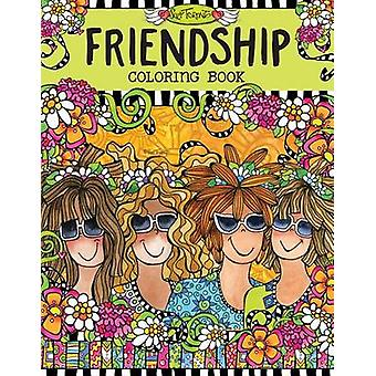 Friendship Coloring Book by Suzy Toronto - 9781497201552 Book