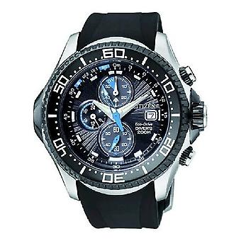 Citizen mens watch ProMaster marine diving watch chronograph solar BJ2111-08E