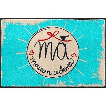 Mata sucha 50 x 75 cm Maison Adoree zmywalne zabrudzenia mat + mycie