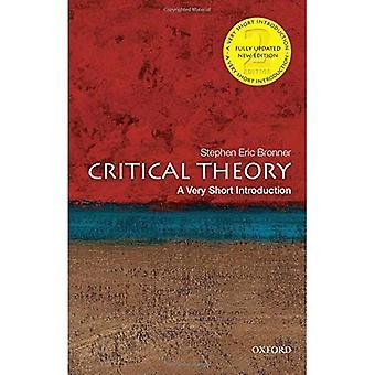 La théorie critique: Une très brève Introduction (très courte introduction)