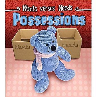 Possessions (Wants vs. Needs)