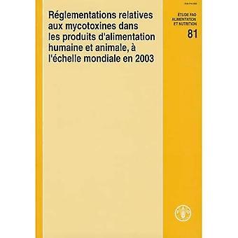 Reglementations Relatives Aux Mycotoxines Dans les Produits D'Alimentation Humaine Et Animale, A L'Echelle Mondiale En 2003