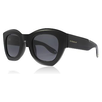 Givenchy GV7060/S 807 Black GV7060/S Square Sunglasses Lens Category 3 Size 48mm