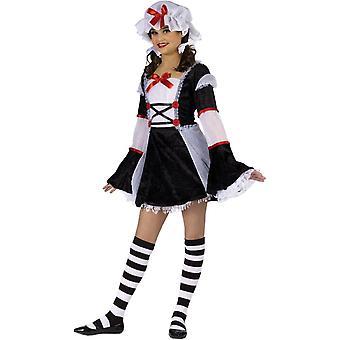 Teen Girls Sweet Rag Doll Costume