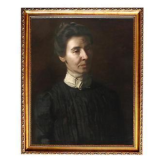 The Portrait of Mary, Thomas Eakins, 61x51cm