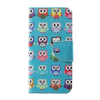 Samsung Galaxy S10 + Wallet Case-Multiple Owls