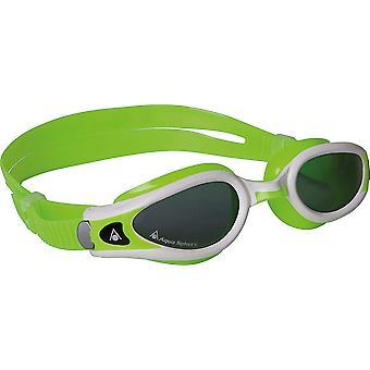 Aqua Sphere Unisex dla dorosłych Kaiman Exo małych dopasowanie okularów pływanie - dym obiektywu
