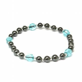 The Olivia Collection Hematite and Blue 8