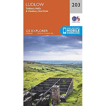 Ludlow and Tenbury Wells (September 2015 ed) by Ordnance Survey - 978