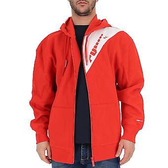 Puma Red Cotton Outerwear Jacket