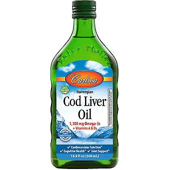 Carlson Labs Norwegian Cod Liver Oil 500 ml