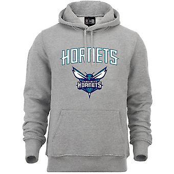 Nowa era Fleece Hoody-NBA Charlotte Hornets Grey
