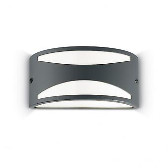 Ideal Lux Rex 3 Wall Light Anthracite