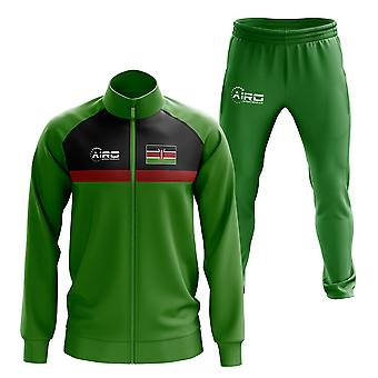 Kenya Concept Football Tracksuit (Green)