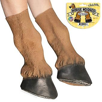 Cosplay - Archie McPhee - Horse Hooves - Set Of 2 New 12457