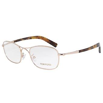 Tom Ford FT5366-028 Optics Mens Eyeglasses Gold Tortoise Frames