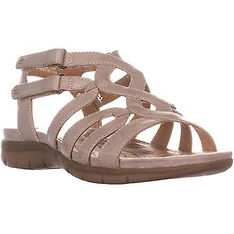 Bare Traps Womens Kaylyn Fabric Open Toe Walking Strappy Sandals