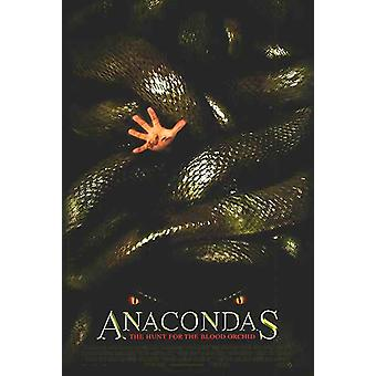 Anacondas: The Hunt For The Blood Orchid (Double Sided Regular) (2004) Original Kinoplakat