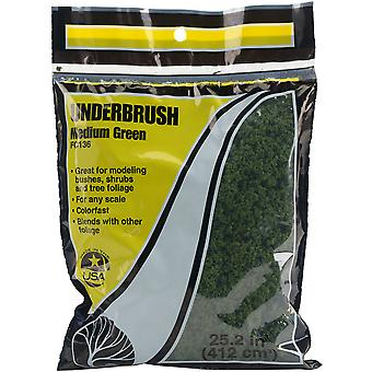 Underbrush Ground Cover -Medium Green FCUNDER-FC136