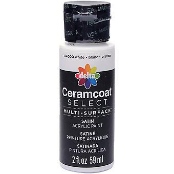 Ceramcoat Select Multi-Surface Paint 2oz-White 4000-04000
