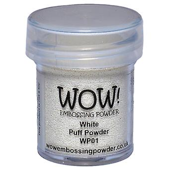 Wow ! Embossage poudre 15Ml blanc Puff Wow Wp01