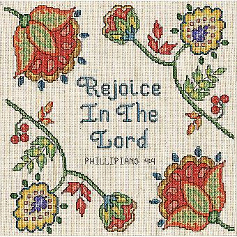 Rejoice Counted Cross Stitch Kit-10