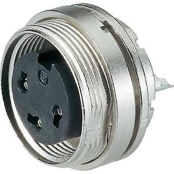 Binder 09-0324-80-06 Series 682 Miniature Circular Connector Nominal current (details): 5 A Number of pins: 6 DIN