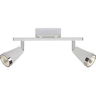 LED ceiling spotlight 10 W Warm white Paulmann Omni G01813A75 White, Chrome
