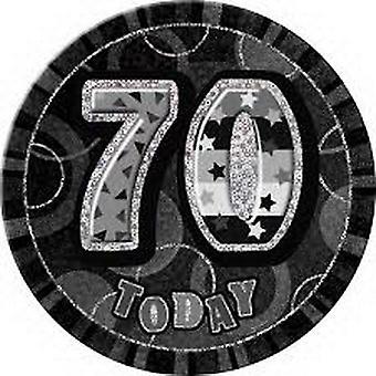 70TH BIRTHDAY BLACK BADGE