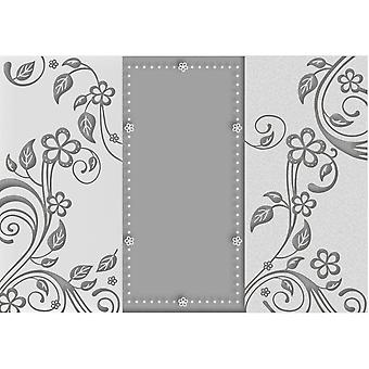 Couture Creations Embossing Folder A4-Leaves CO723616