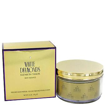White Diamonds  Body Radiance By Elizabeth Taylor Perfumed Body Powder 150g