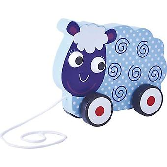 CPA Sheep Wood Wheel (Toys , Preschool , Babies , Push And Pull Toys)