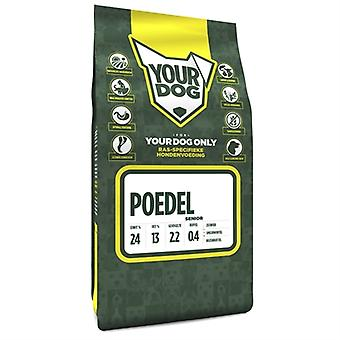YOURDOG MIDDENSLAGPOEDEL SENIOR 3 KG