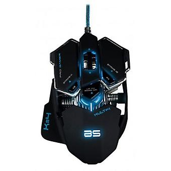 Bluestork Bs-gaming mouse gm-lit black kult4
