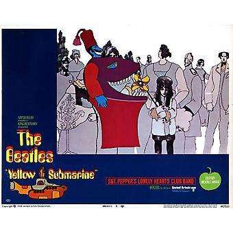Cartel de la película submarino amarillo Masterprinter