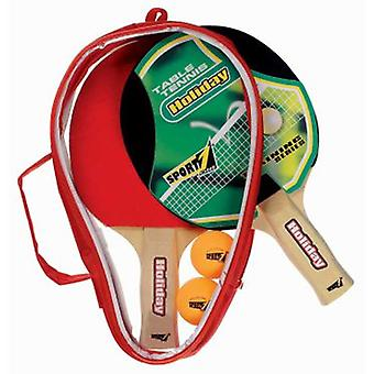 Sport One Ping Pong in September Holiday 2 Rackets With 2 Pelotas (Outdoor , Sport)