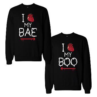Mijn Bae en Boo paar Sweatshirts Halloween bijpassende zweet Shirts