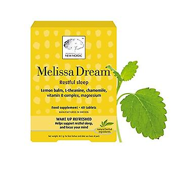 New Nordic, Melissa Dream, 40 tablets